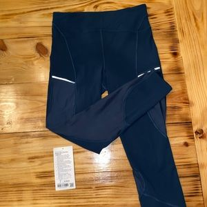 Lululemon Always Airy Leggings with Mesh